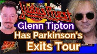 Judas Priest guitarist Glenn Tipton Has Parkinson
