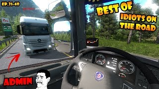 ★ BEST OF Idiots on the road - ETS2MP - Ep. 31-40 | Tony 747 - Best moments thumbnail