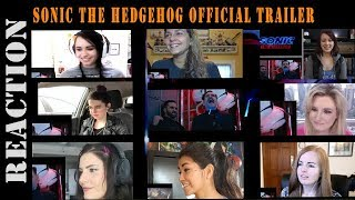 Sonic The Hedgehog Official Trailer REACTIONS MASHUP