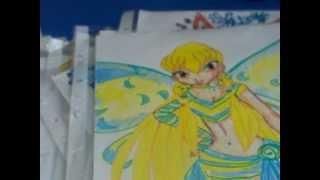 Мои рисунки Winx Club Винкс