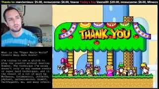 """Super Mario World"" Credits Warp (Safe Route)"