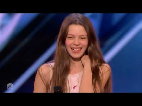Courtney Hadwin cantando Hard to Handle by Black Crowes
