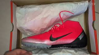 brand new a9f9b 315af Unboxing Nike Mercurial Superfly 6 Academy CR7 TF - CHAPTER 7 ...