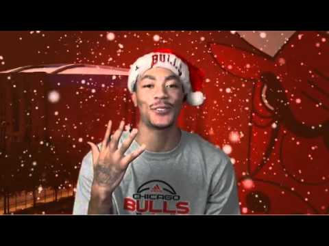 Happy Holidays from the 2010-2011 Chicago Bulls