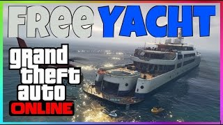 Gta 5 #Online# How To get Free Yacht Ps4 Pc Xbox