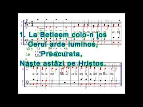La Betleem colo-n jos ( minus )
