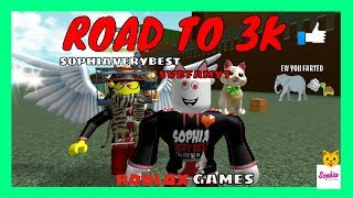 Let's play ROBLOX! Sophia & SVBDAD Livestream - Fun ROBLOX games with FANS