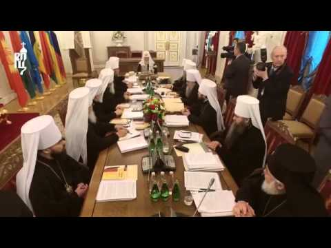 Russian Orthodox Church held a Holy Synod Session in St. Petersburg