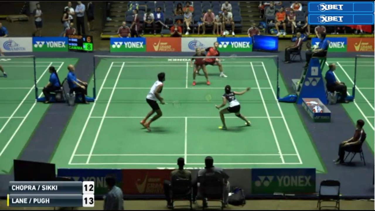 Badminton US Open GPG 2017 Pranaav Jerry Chopra N Sikki Reddy