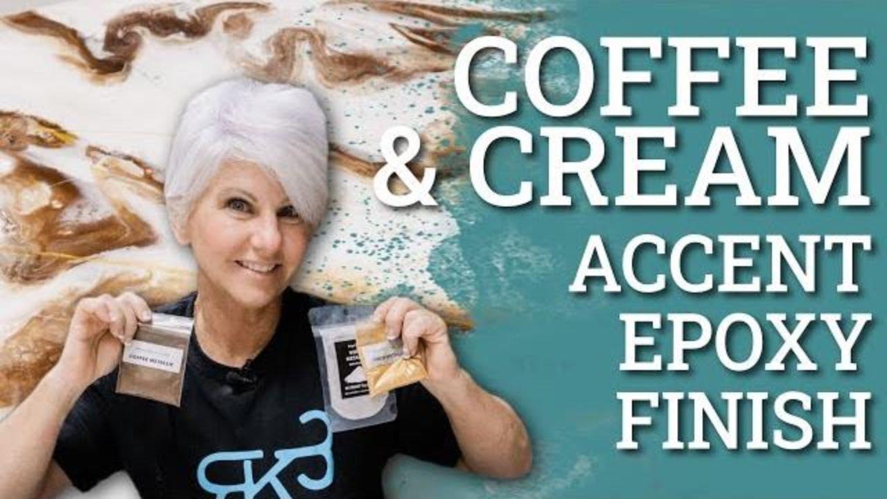 Coffee & Cream: Stone Coat Countertop Epoxy Finish