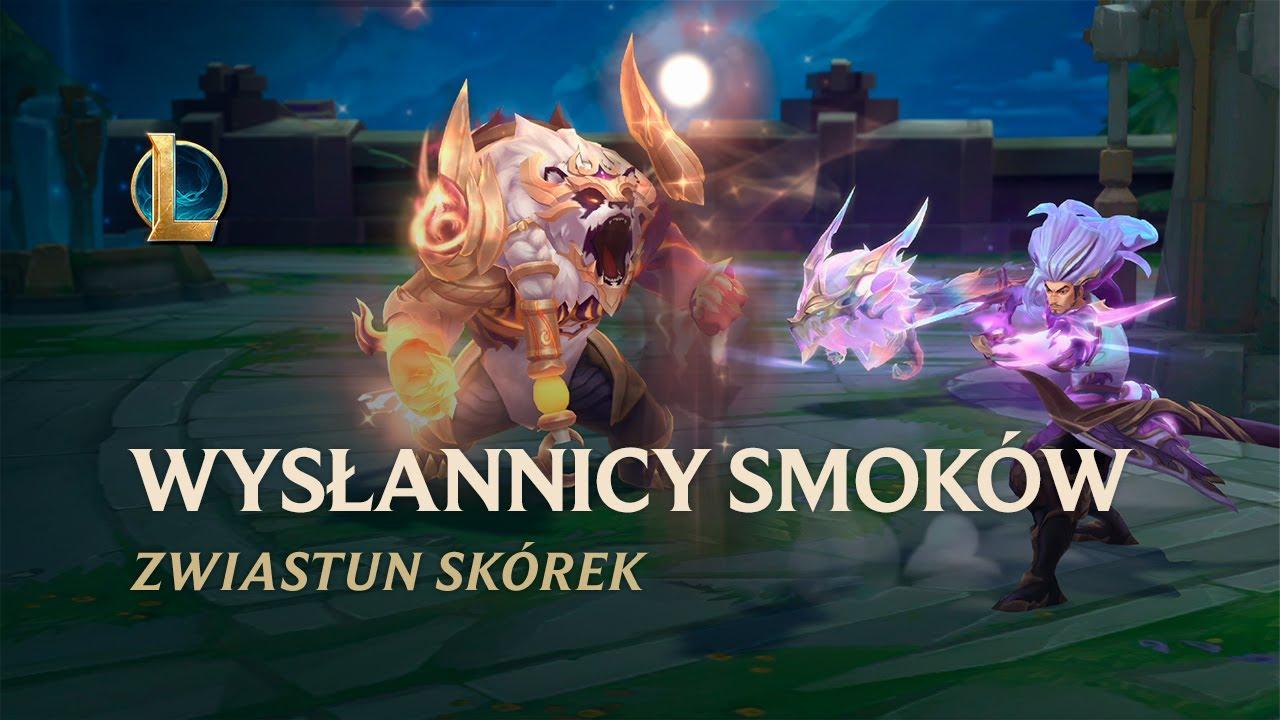 Wysłannicy Smoków 2021 | Oficjalny zwiastun skórek — League of Legends