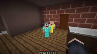 KORKUNÇ KIZDAN SAKLANIYORUM! 😱 - Minecraft