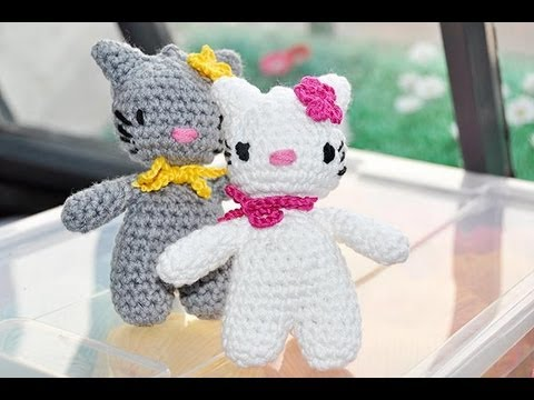 h keln hello lucy hello lomo teil 1 amigurumi youtube. Black Bedroom Furniture Sets. Home Design Ideas