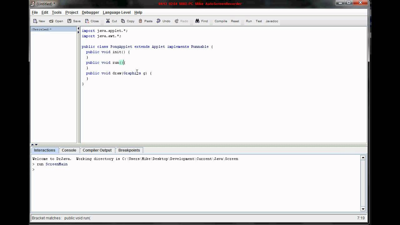 Java games tutorial gallery any tutorial examples lets learn java games tutorial 1 the bare bones youtube lets learn java games tutorial 1 baditri Gallery