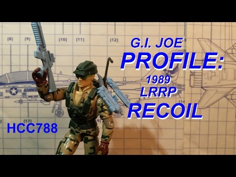HCC788 Profile: 1989 RECOIL - LRRP - vintage G.I. Joe toy! HD