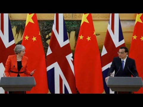 May hopes to intensify relation with China