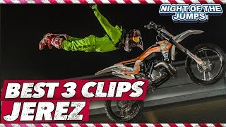 NIGHT of the JUMPs - JEREZ - BEST 3 FMX JUMPS 2016
