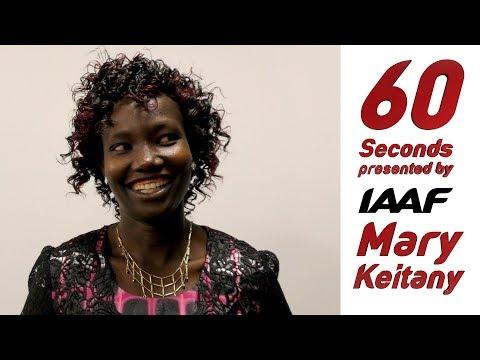 60 seconds: Mary Keitany