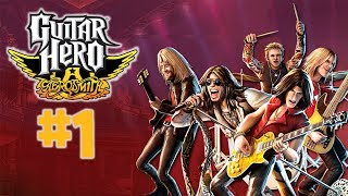 GUITAR HERO AEROSMITH Let's Play - Part 1 - Dream Police