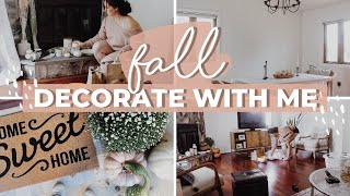 FALL CLEAN AND DECORATE WITH ME 2019 | Target + Homegoods Haul | Fall Home Tour