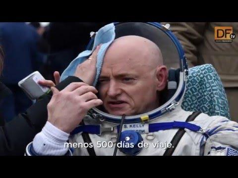 Astronauta de la NASA aterriza en la Tierra después de pasar 340 días en el espacio