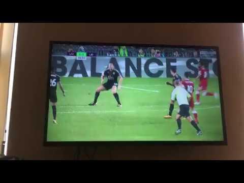 Mo Salah goal vs Leicester Asia premier league cup