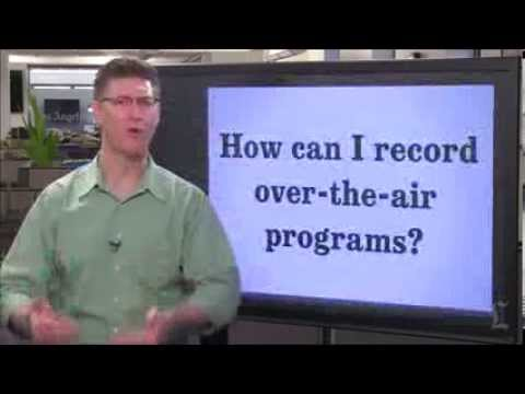 How can I digitally record TV programs without a cable or satellite box? (AskLaz)