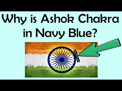 IAS Interview Questions || Why Is Ashok Chakra In Navy Blue? || India G.K.