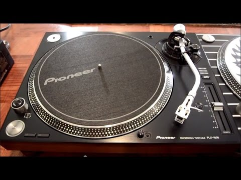 pioneer plx 1000 dj turntable review super oem comparison video youtube. Black Bedroom Furniture Sets. Home Design Ideas