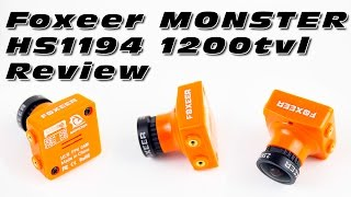 DutchRC – Foxeer MONSTER HS1194 1200tvl FPV Camera Review!