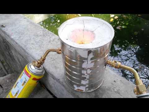 Fundiendo Lingote de Oro en Casa