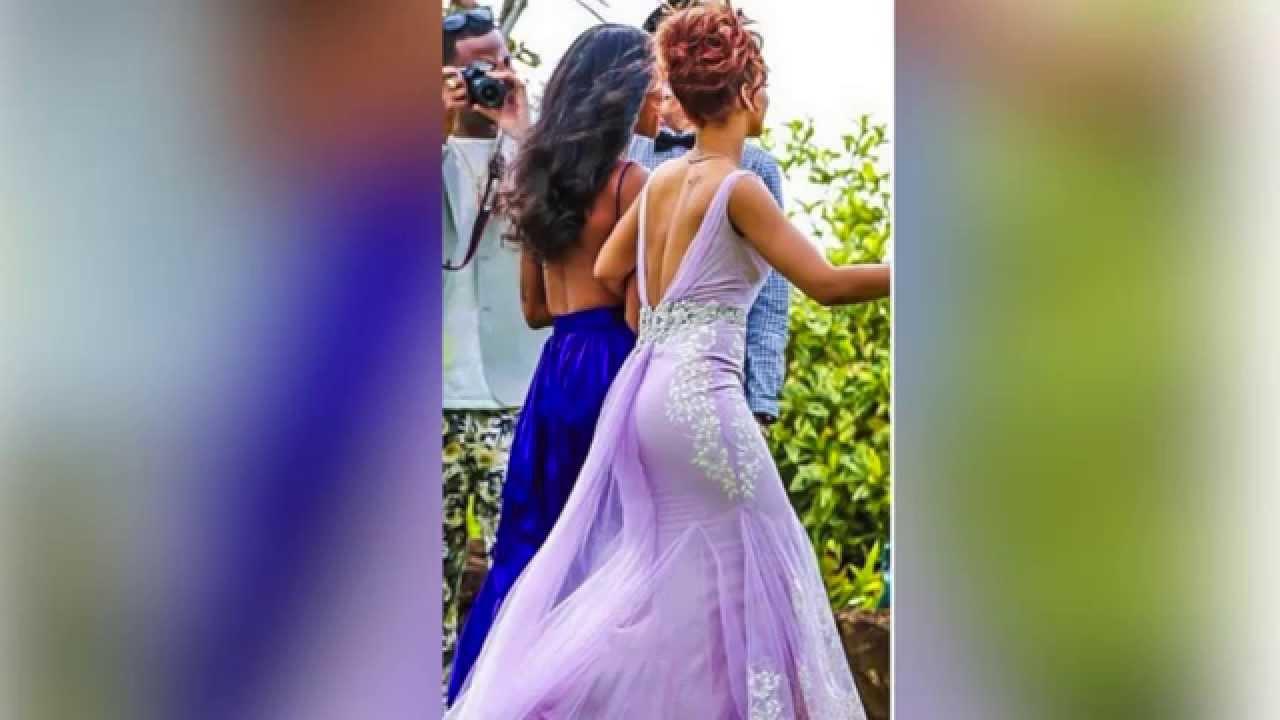 Rihanna rocks a bridesmaid dress plus other celebs who were ...