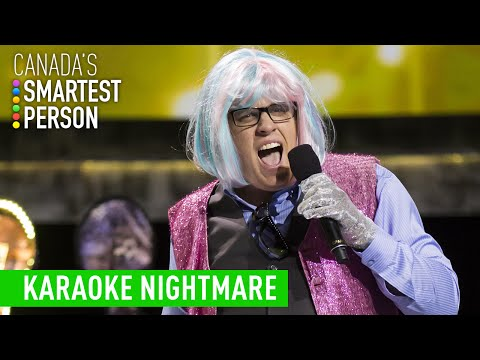 Jason's Karaoke Nightmare | Canada's Smartest Person | CBC
