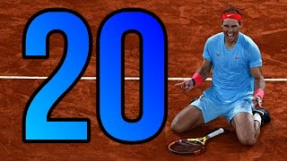 Rafael Nadal ♦️ 20 MINUTES OF MAGIC ON CLAY