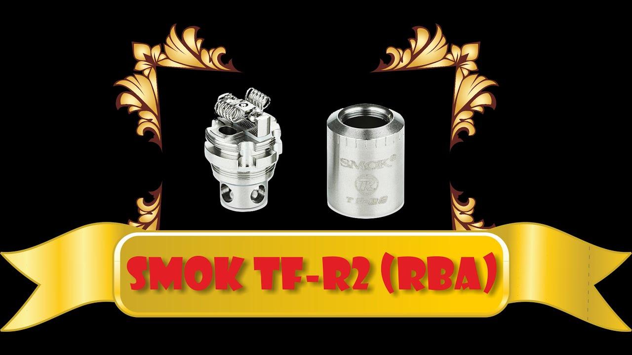 Имхо о обслуживаемой базе SMOK TF-R2 + укладка ваты. - YouTube