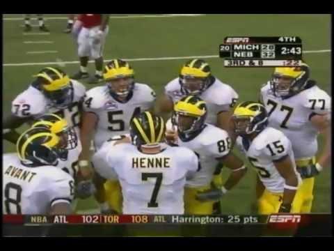Michigan Wolverines vs Nebraska Cornhuskers - 2005 Alamo Bowl