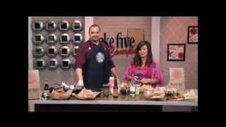Fiery Bleu Buffalo Burger - WZZM