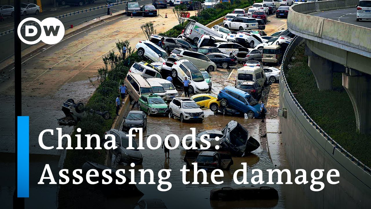 Download China floods: Dozens dead and thousands displaced in Henan   DW News