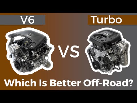 2.0L Turbo vs 3.6L Jeep Wrangler JL Which is better? Part 2 Off Road Test!
