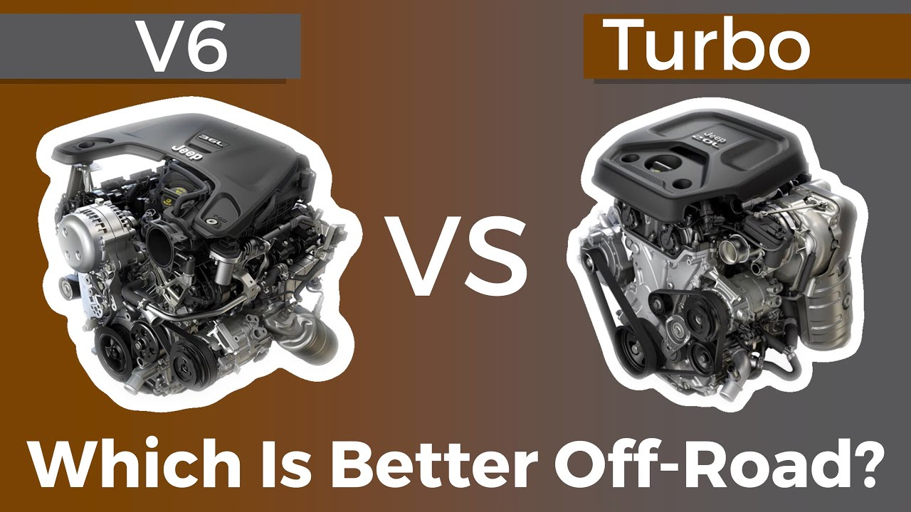 2 0L Turbo vs 3 6L Jeep Wrangler JL Which is better? Part 2 Off Road Test!
