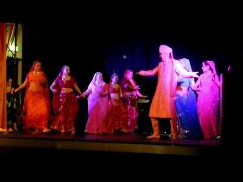 Moonsun Dance Company - Ringa Ringa, Bhole Chudiyan (29.1.2011)