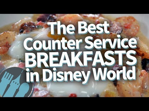Disney World's Best and Most Unique Fast Food Breakfasts!