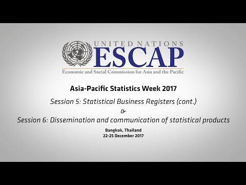 APESW2017: Session 5 (cont.) & Session 6 - Dissemination and communication