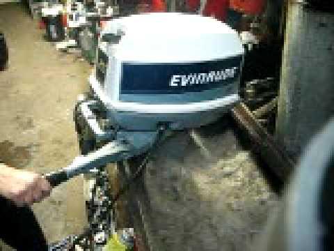 Evinrude 25 Hp >> 007 1984 Evinrude 25 Hp Short Shaft Tiller Electric Start Tuned Up