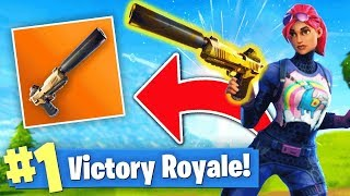 THE *NEW* LEGENDARY SILENCED PISTOL! (Fortnite Battle Royale)