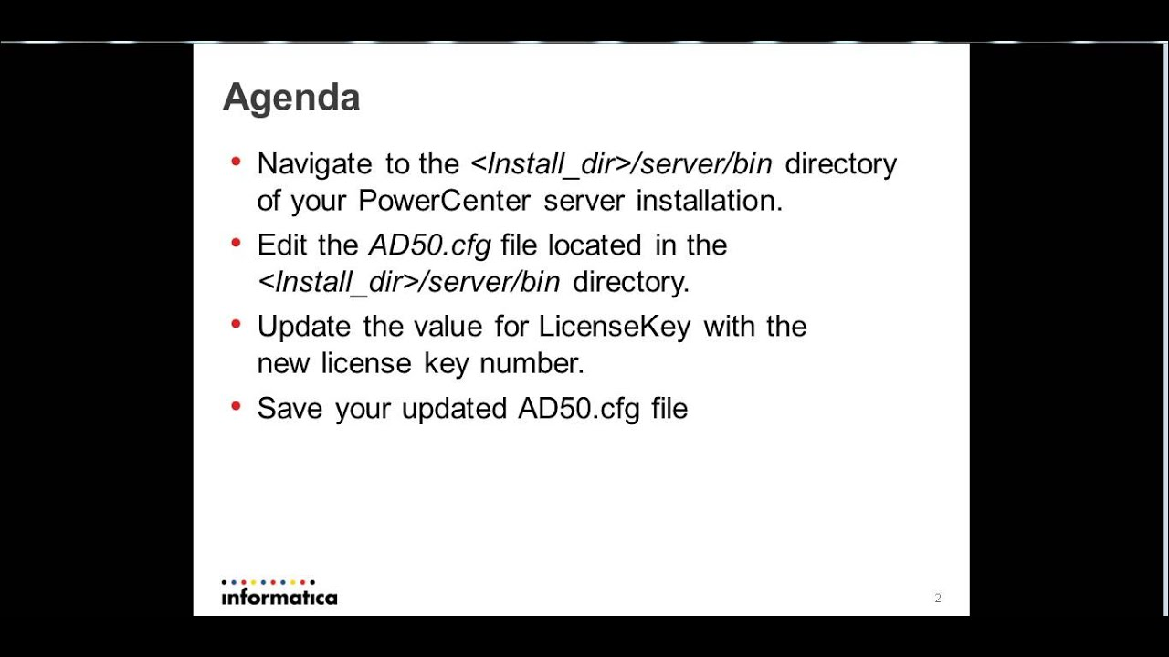 How to Update Address Doctor License for PowerCenter