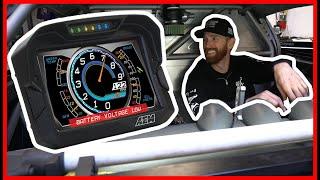 homepage tile video photo for CHRIS FORSBERG Sets Up a CD-7 Digital Dash in his Formula Drift Car!