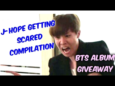 BTS J-Hope Scared Moments + BTS Album Giveaway You Never Walk Alone