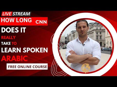 How Long Does it Really Take to Learn Spoken Arabic?
