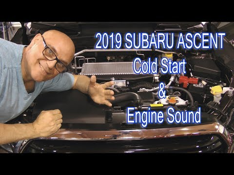 Фото к видео: SUBARU ASCENT Cold Engine Start and Exhaust Sound